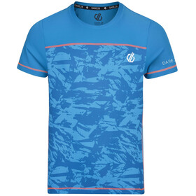 Dare 2b Buoyant T-paita Pojat, petrol blue/shred print